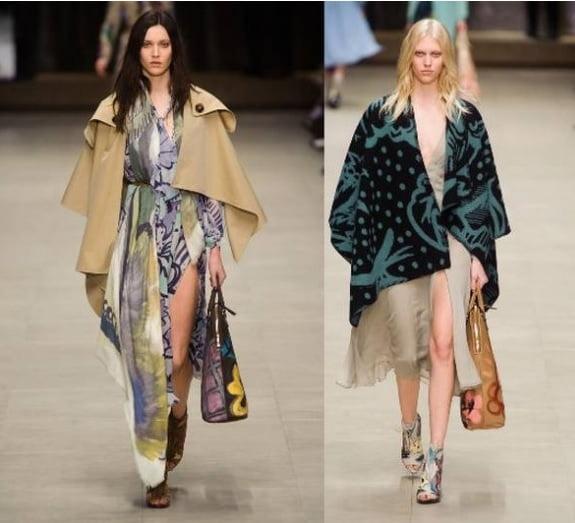 Moda din toamna-iarna 2014-2015 la brand-ul Burberry Prorsum, Foto: shelookbook.com