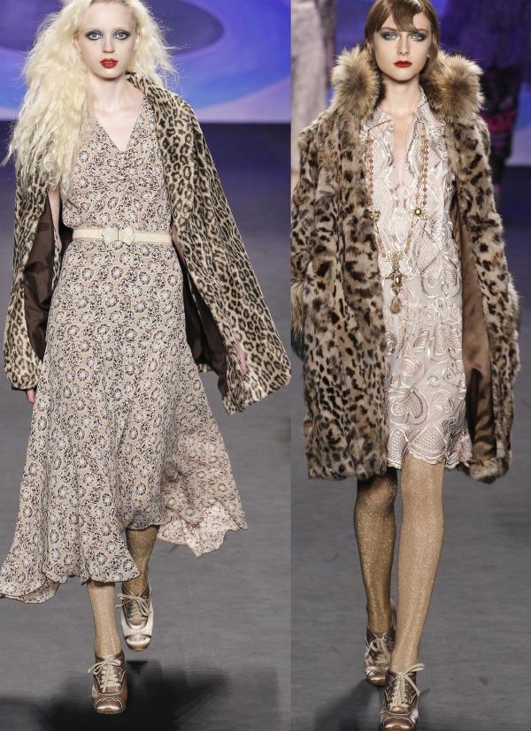 Moda la designerul Anna Sui în toamna-iarna 2014-2015, Foto: modelgracevangastel.tumblr.com