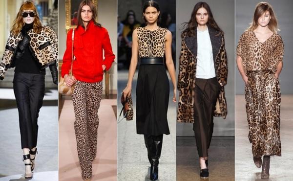 Moda în stil animal print la Dolce & Gabbana, Blugirl, Sportmax, Chicca Lualdi și Simonetta Ravizza, Foto: beautifullyfierce.blogspot.ro