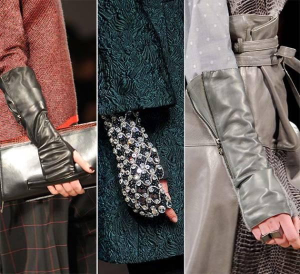 Modele de mănuși pentru toamna anului 2014, Foto: sellinismode.blogspot.ro