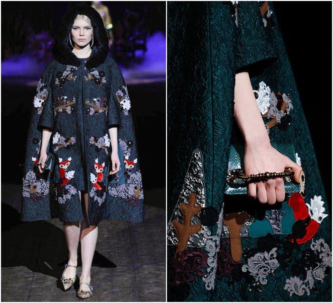 Pelerină Dolce&Gabbana, Foto: jetsetter.ua