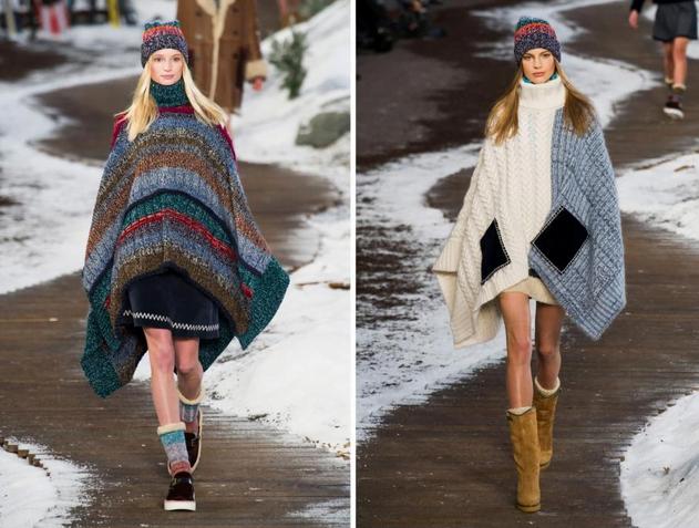 Pelerine la modă în toamna-iarna 2014-2015, Foto: styletalksfashionwalks.weebly.com