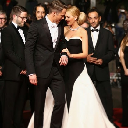 Blake Lively în rochie de mătase, marca Gucci, Foto: 3.bp.blogspot.com