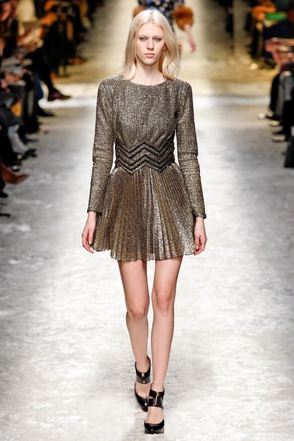 Rochie elegantă plisată, creație Glitter&Sequin, Foto: wardrobelooks.com