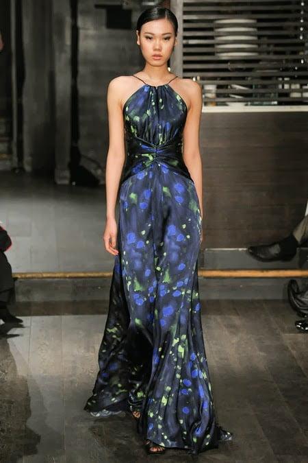 Rochie uimitoare de seară, designer Douglas Hannant, Foto: asianmodelsblog.blogspot.ro