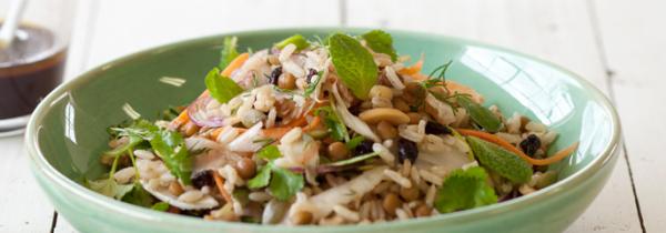 Salată cu orez brun, Foto: recipes.coles.com.au
