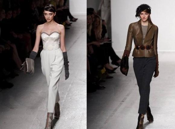 Tendințele modei la mănuși din acest an, Colecția John Galliano, Foto: shelookbook.com