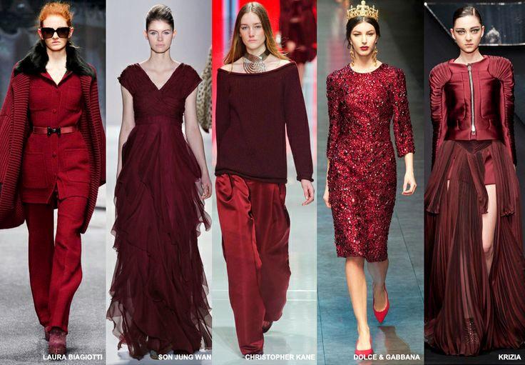 Vișiniul la modă în toamna-iarna 2014-2015