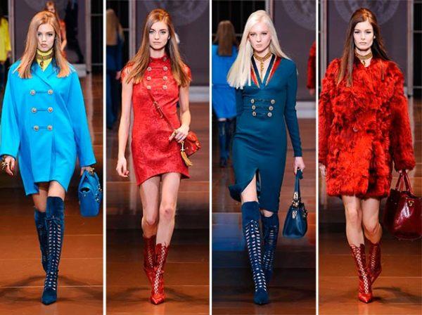 Colecția Versace din toamna-iarna 2014-2015, Foto: yenilikmodasi.com