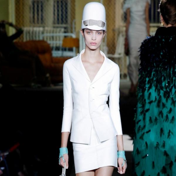 Ținută elegantă albă, Foto: topteny.com