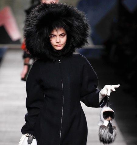 Căciulă de blană la modă în acest an, Foto: vsezdorovo.com