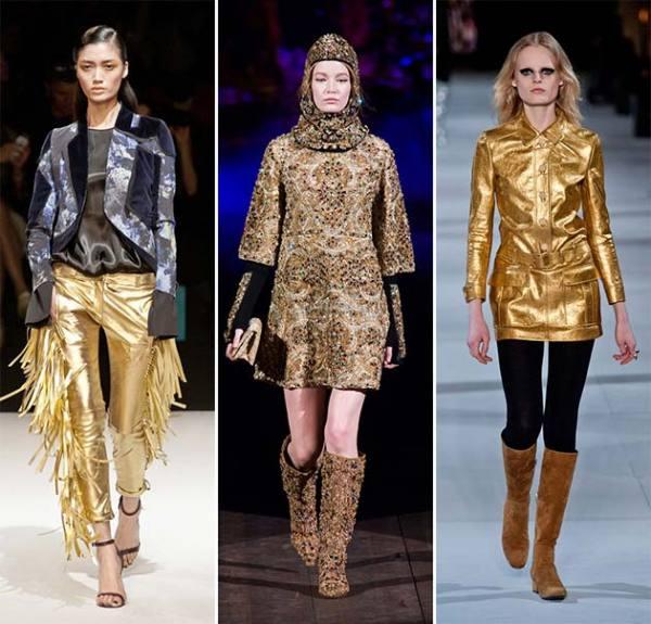 Galben-auriu la modă în toamna-iarna 2014-2015, Foto: flooks.net