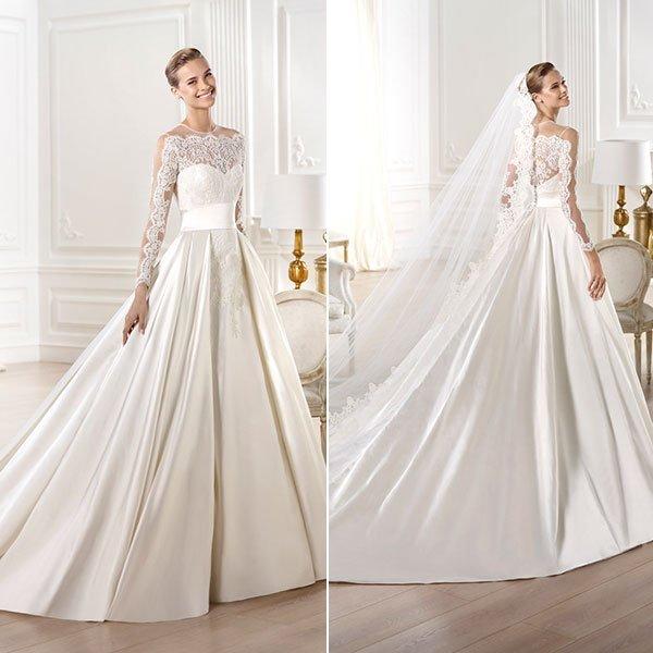 Moda în acest an la rochii de mireasă, Foto: bridalguide.com
