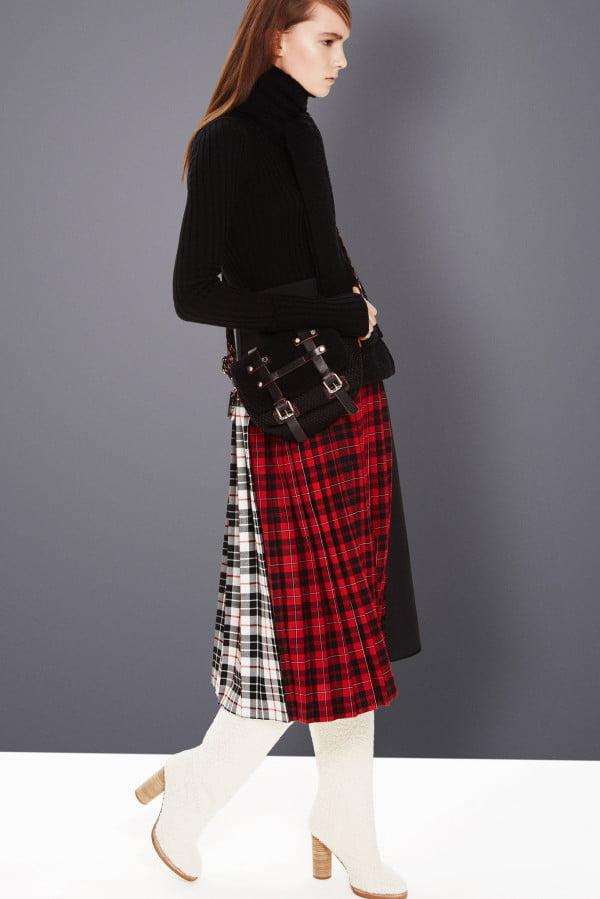 Model scoțian în tendințele modei din acest an, Foto: wardrobelooks.com