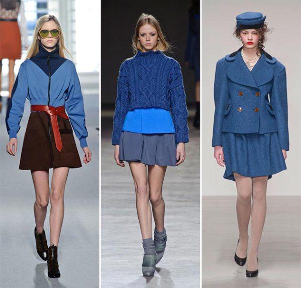 Nuanțe luminoase de albastru, Foto: fashionistespieraksti.wordpress.lv