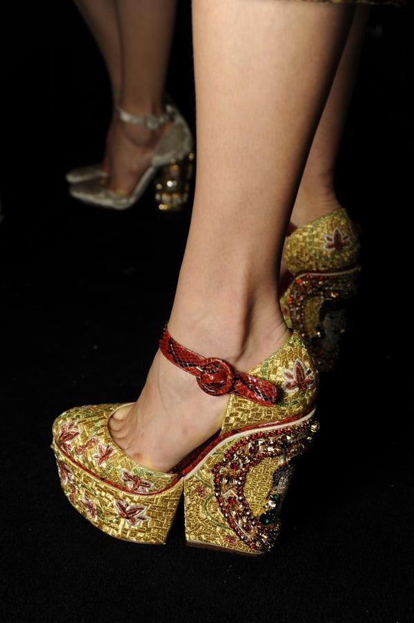 Pantofi Dolce&Gabbana, Foto: dailygossip.ro