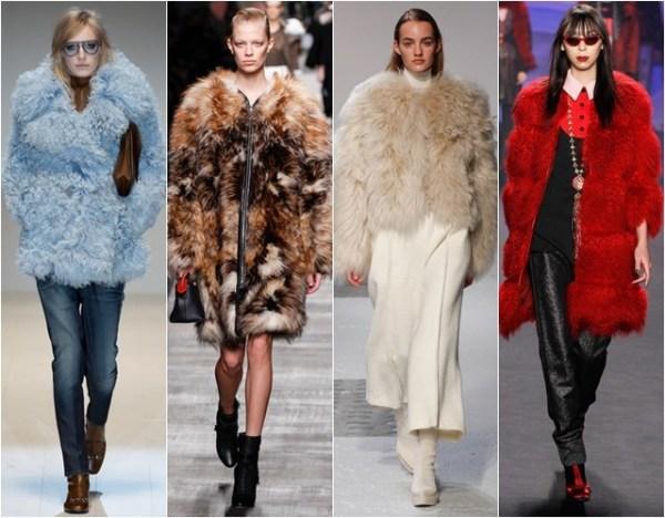 Tendințele modei la haine de blană în toamna-iarna 2014-2015, Foto: glitter.si