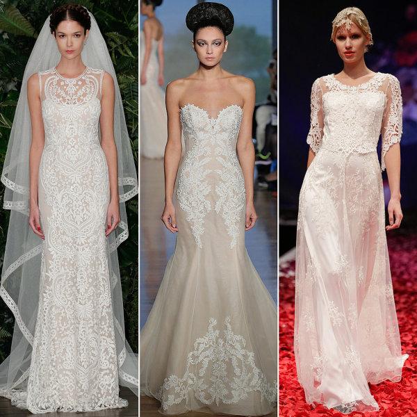 Tendințele modei la rochii de mireasă în toamna anului 2014, Foto: popsugar.co.uk
