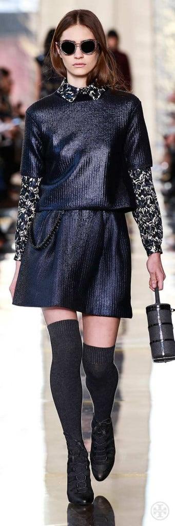 Ciorapi lungi până la genunchi la modă în toamna anului 2014