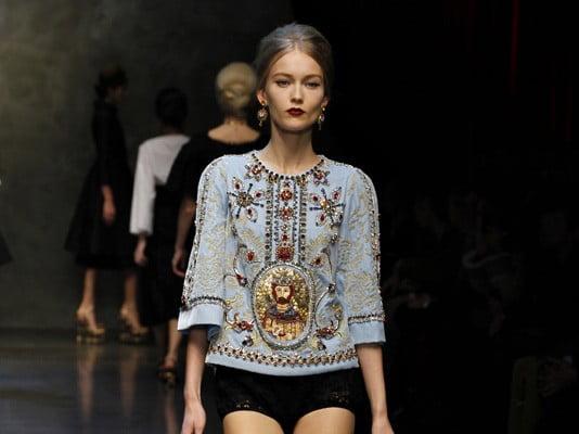 Colecția Dolce & Gabbana din acest an, Foto: bellomag.com