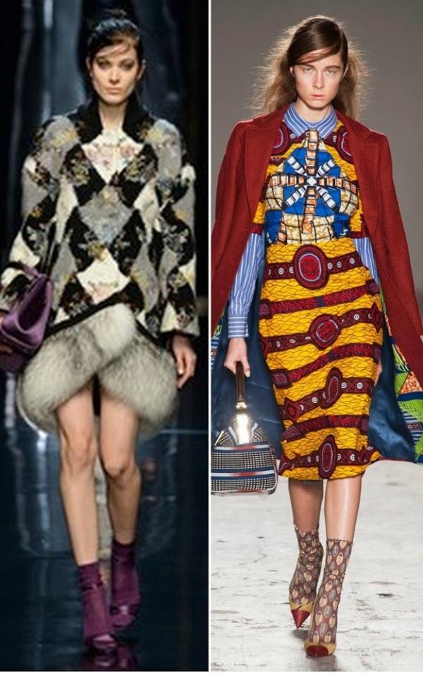 Moda în colecția Ermanno Scervino și Stella Jean, Foto: bellesavenuexo.blogspot.ro