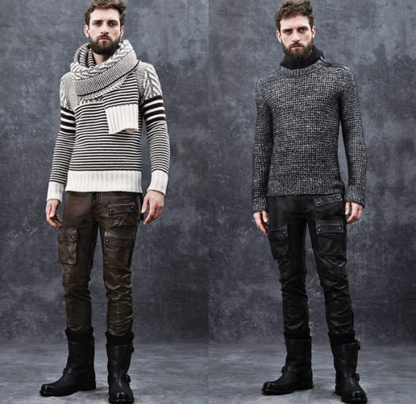 Moda în toamna-iarna 2014-2015, colecția Belstaff, Foto: denimjeansobserver.com