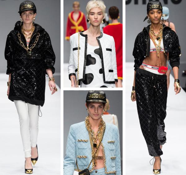 Moda Moschino pentru toamna-iarna 2014-2015, Foto: afternight.tv