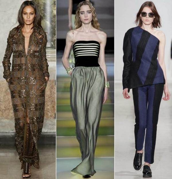 Moda la Emilio Pucci, Giorgio Armani și Costume National, Foto: bellesavenuexo.blogspot.ro