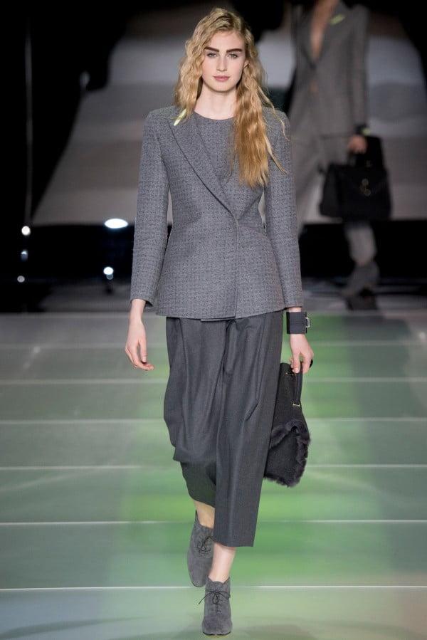Pantaloni eleganți marca Giorgio Armani, Foto: thebestfashionblog.com