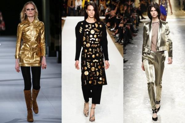 Pantaloni la modă în acest an, marca Saint Laurent, Chloé, Blumarine, Foto: carnetchic.co.uk