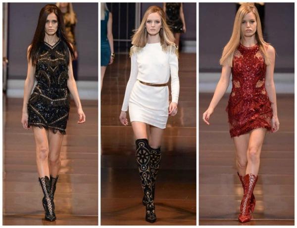 Tendințele modei în toamna-iarna 2014-2015, colecția Versace, Foto: fashionavecpassion.com