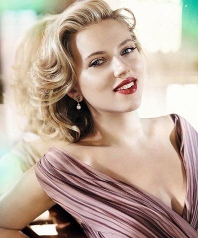 Coafură pentru femei blonde cu părul de lungime medie, Foto: fancylifecorner.com