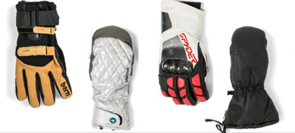 Mănuși moderne pentru bărbați pentru sporturi de iarnă, Foto: onthesnow.com