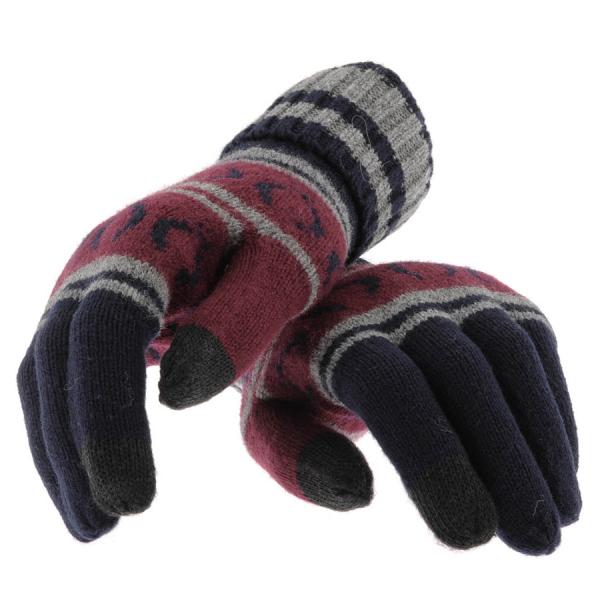 Mănuși pentru bărbați marca Fred Perry, Foto: mainlinemenswear.co.uk