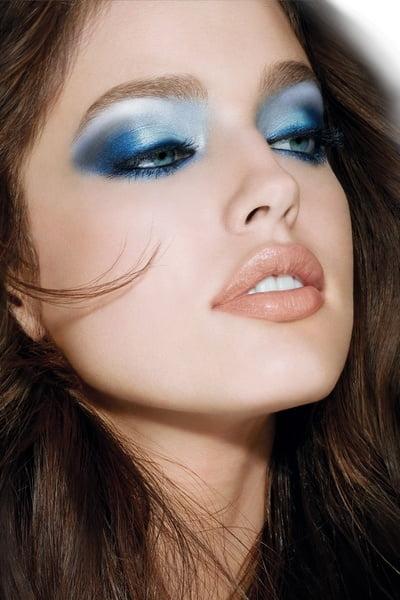 Machiaj în nuanțe de albastru, Foto: got-blogger.com