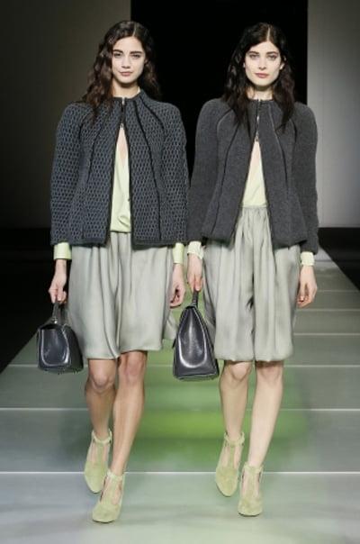 Moda în acest an, colecția Giorgio Armani, Foto: fashionbashon.com