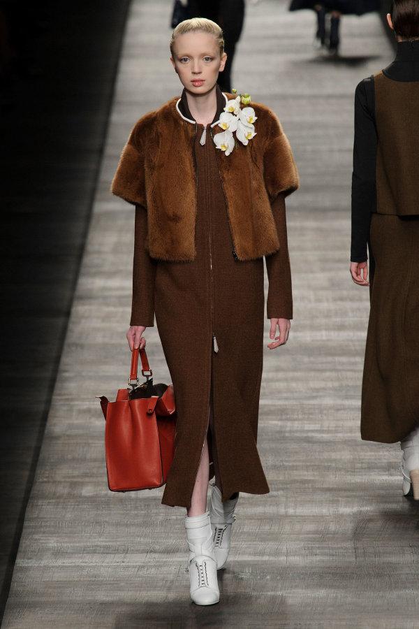 Tendințele modei în acest an, Fendi, Foto: popsugar.co.uk