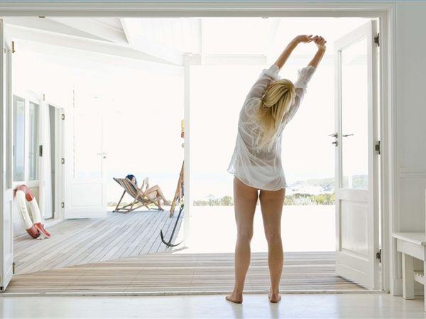 Exerciții de stretching pentru o stare de bine dimineața, Foto: goodrelaxation.com