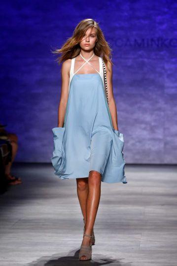 Bleu în tendințele modei, Rebecca Minkoff, Foto: nycfitfoodfashion.com
