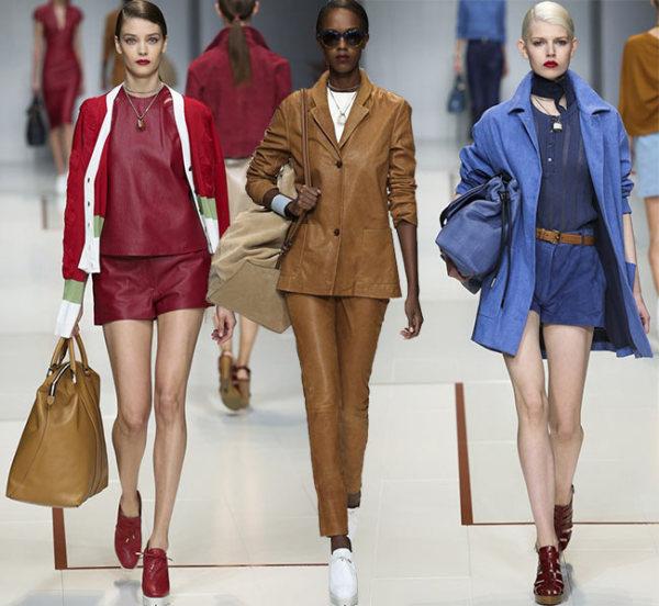 Colecția Trussardi pentru primăvara anului 2015, Foto: fashionisers.com