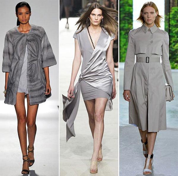 Gri clasic creează un look deosebit, Foto: phunuonline.com.vn