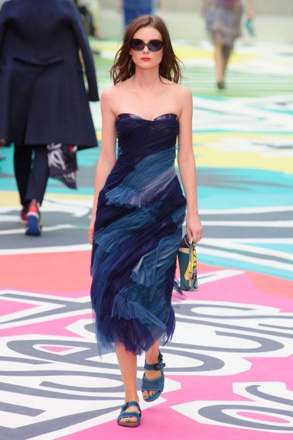 Rochie elegantă din tulle pentru vară, Foto: tabloid.az