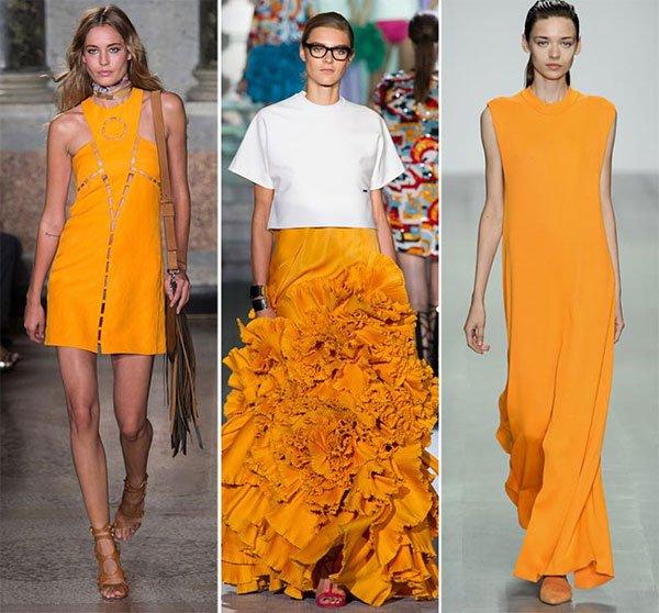 Tangerine, un portocaliu la modă în acest an, Foto: phunuonline.com.vn