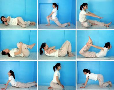 Exerciții pentru tratamentul hernie de disc