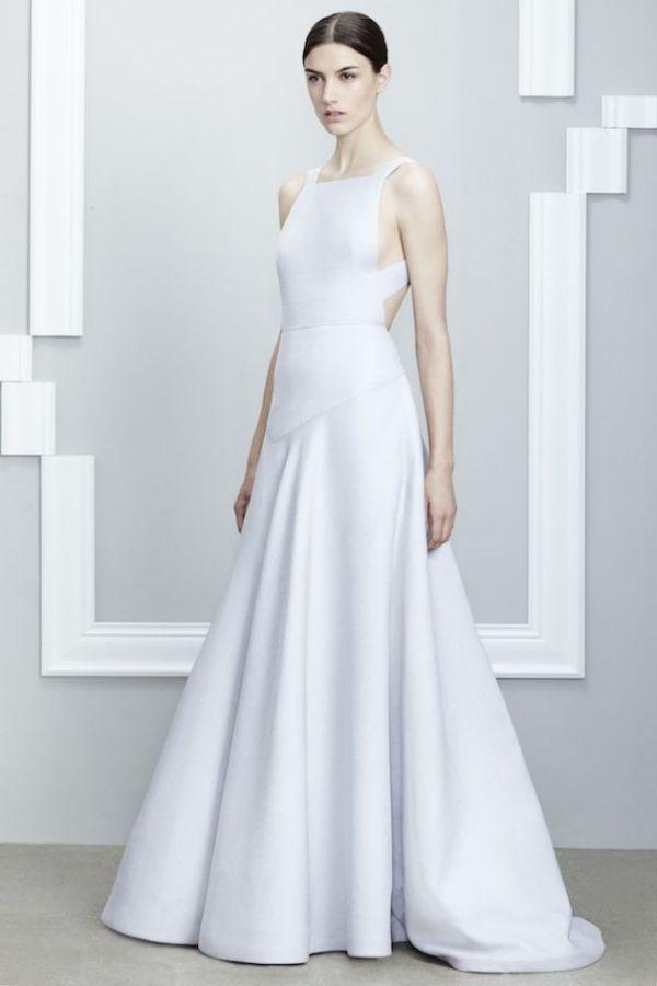 Rochie albă elegantă, creație de Jason Wu, Foto: stylevitae.com