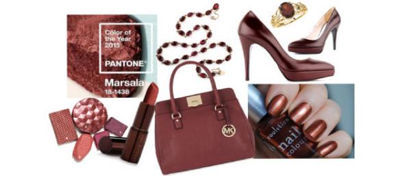 Accesorii de culoare marsala, Foto: blog.dolabimiseviyorum.com