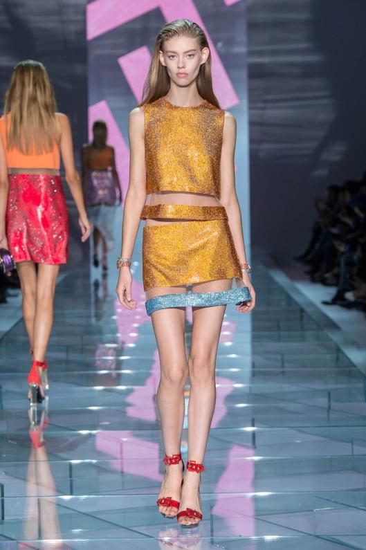 Rochie de ocazie Versace, Foto: thedailymeal.com
