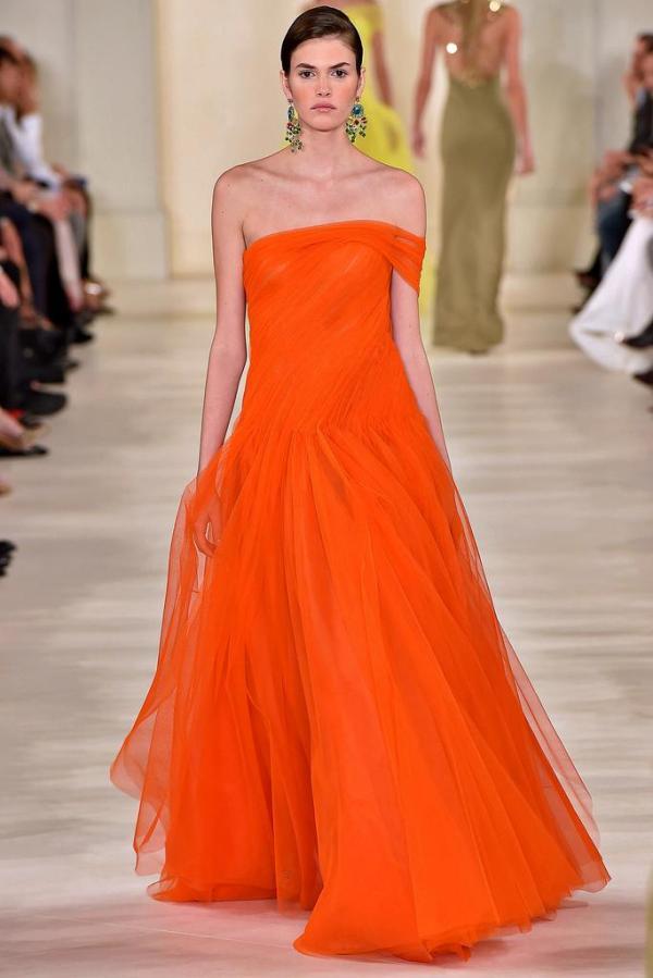 Rochie orange elegantă, Foto: anibundel.files.wordpress.com