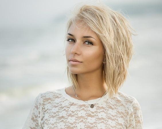 Tunsoarea în Cascadă Pentru Păr Scurt La Modă în Anul 2015 Bodygeek