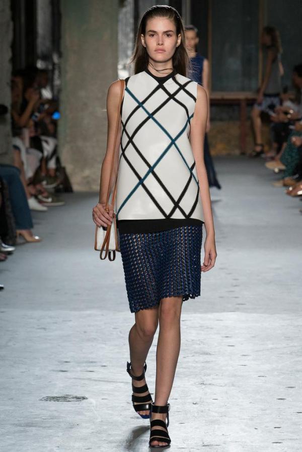 Colecția Proenza Schouler pentru acest an, Foto: stylesnooperdan.com